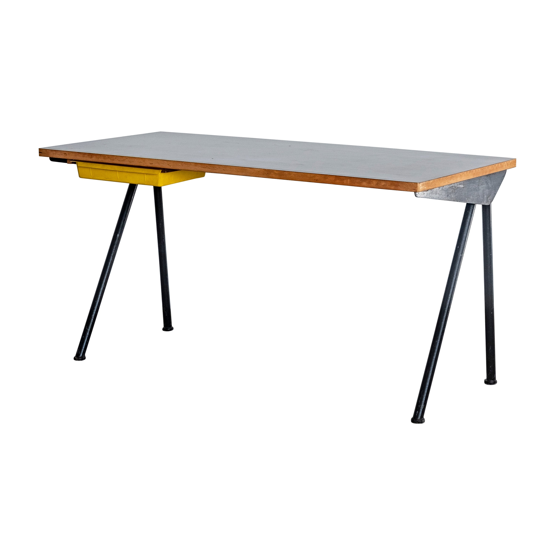 """Jean Prouvé Original """"Compas desk"""" by"""