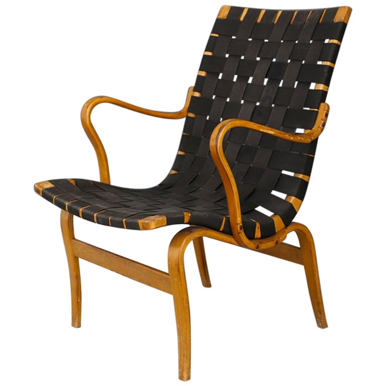 Bruno Mathsson Eva Chair Midcentury, 1940s