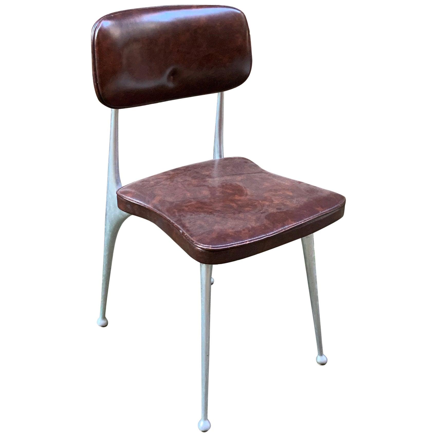 Shelby Williams Cast Aluminum Gazelle Chair