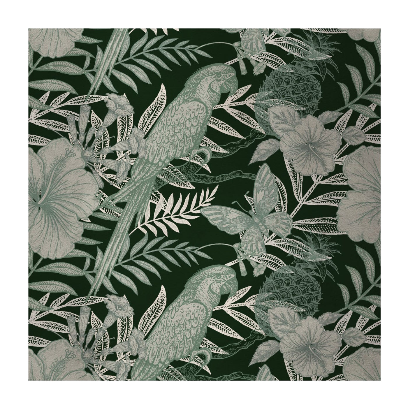 Parrots Green Panel