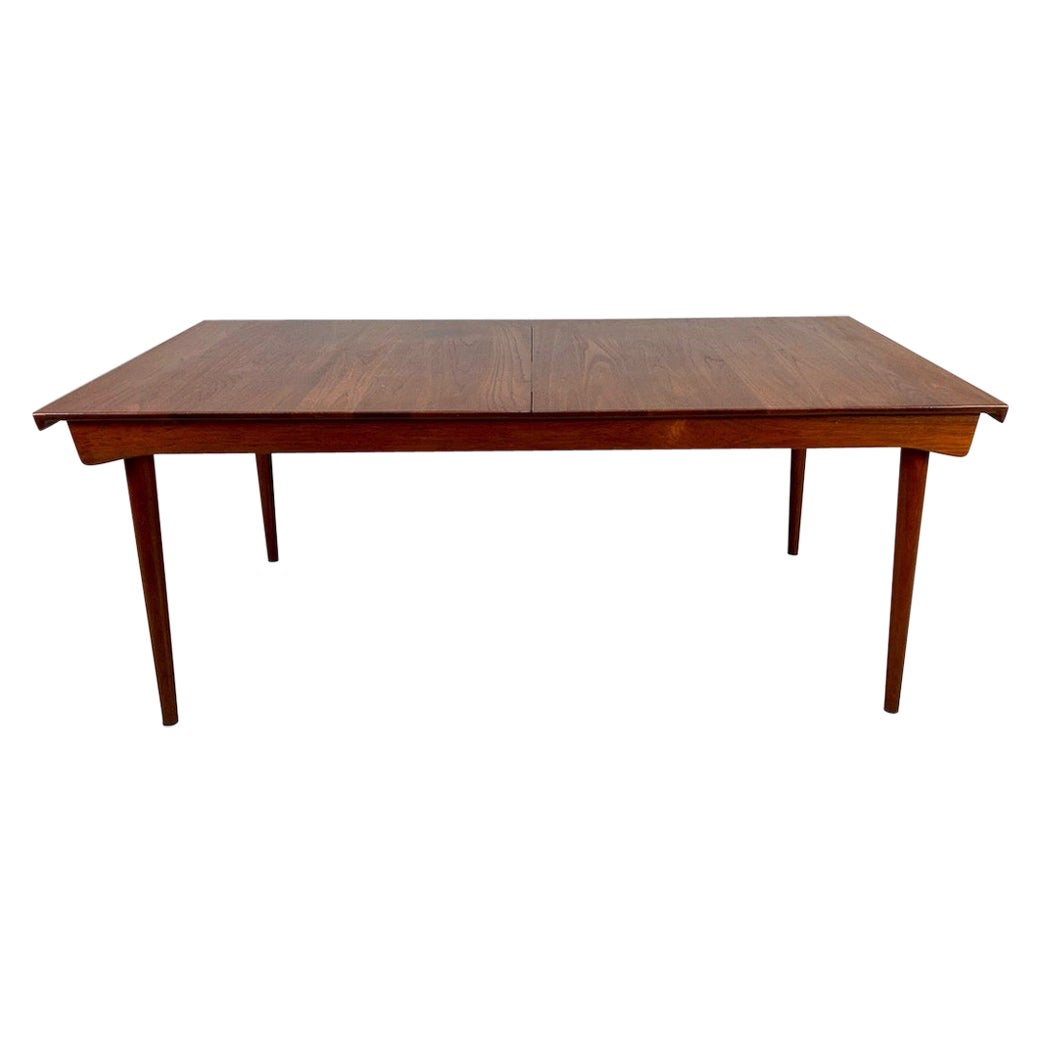 Solid Teak Extension Table by Finn Juhl for France & Son
