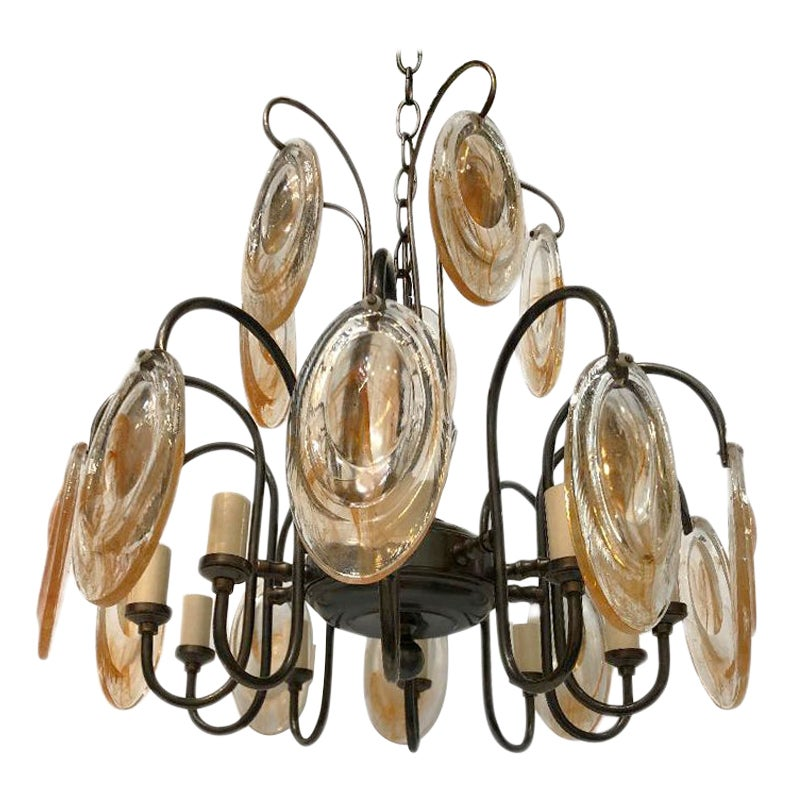 Pair of Italian Chandeliers, Sold Individually