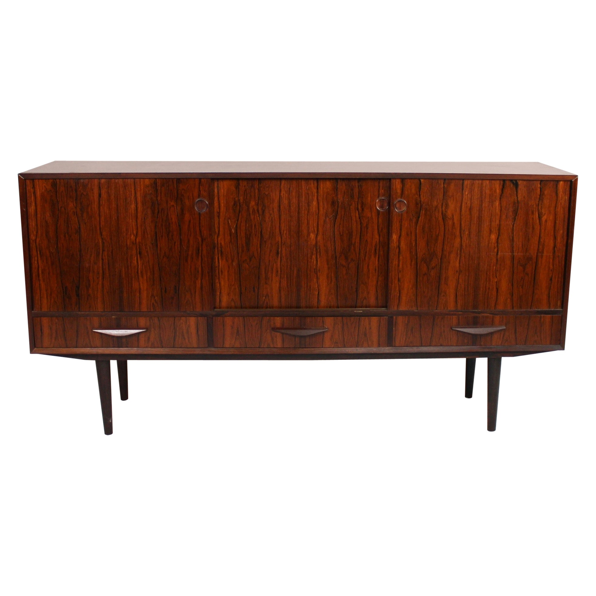 Sideboard in Rosewood of Danish Design from the 1960s
