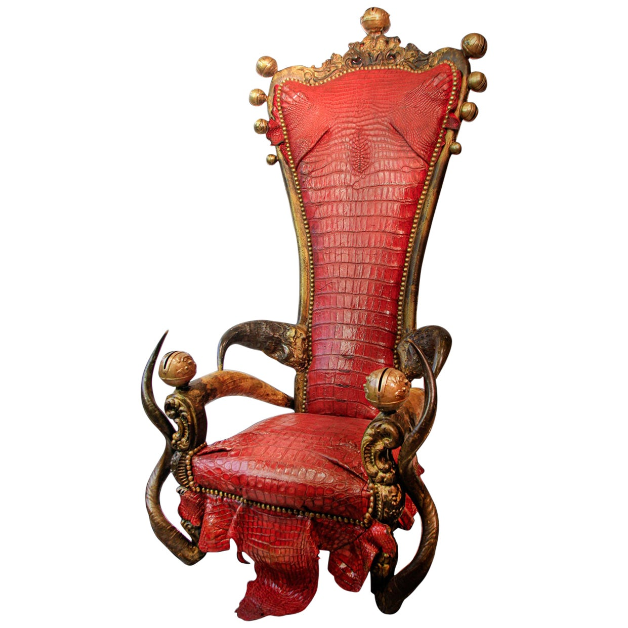 King Red Croco Throne