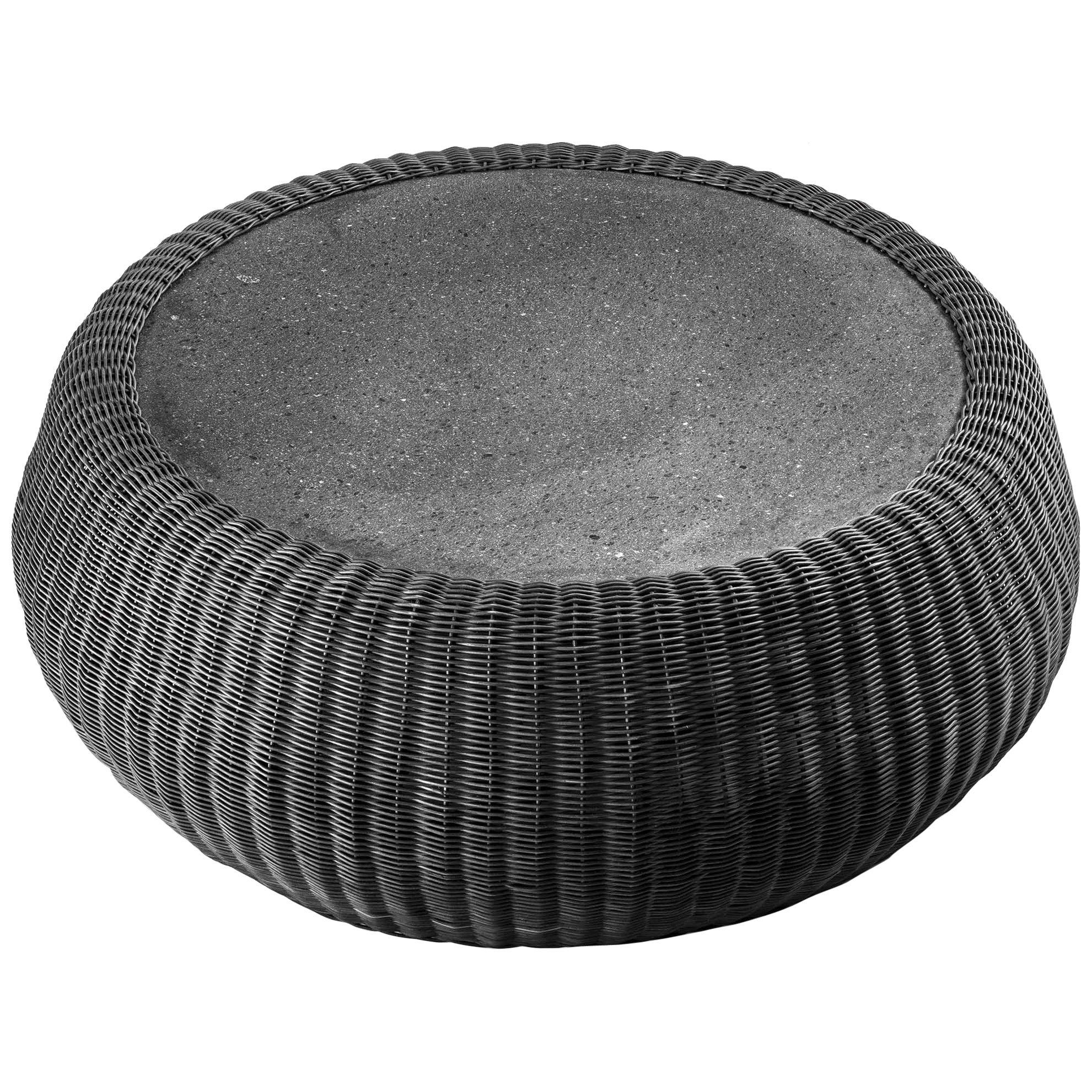 "Lava Stone ""Amazonas"" Coffee Table, Giorgio Bonaguro"