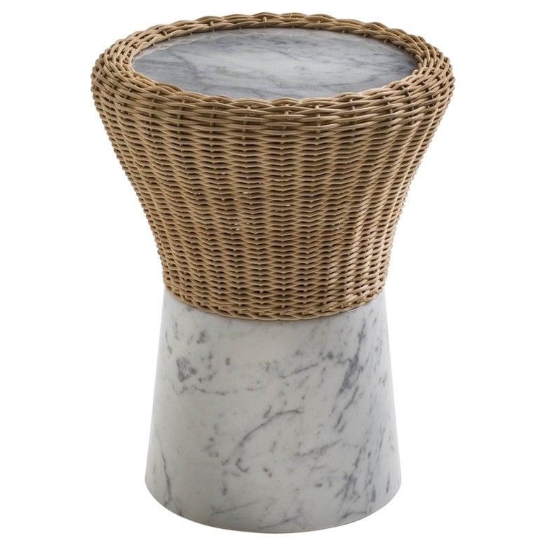 "Marble ""Amazonas"" Coffee Table, Giorgio Bonaguro"