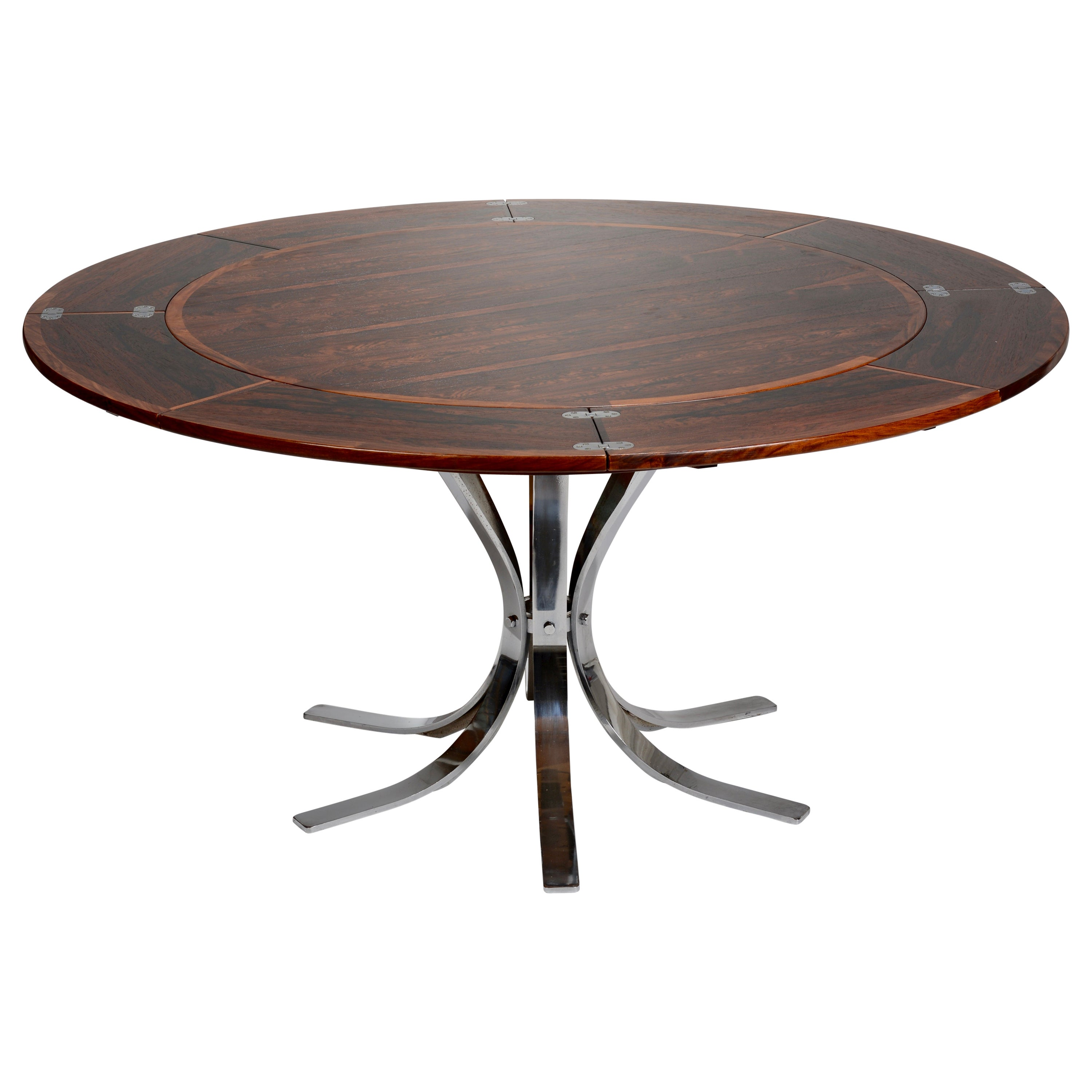 """Danish Rosewood """"Lotus Design"""" Dining Table by Dyrlund"""