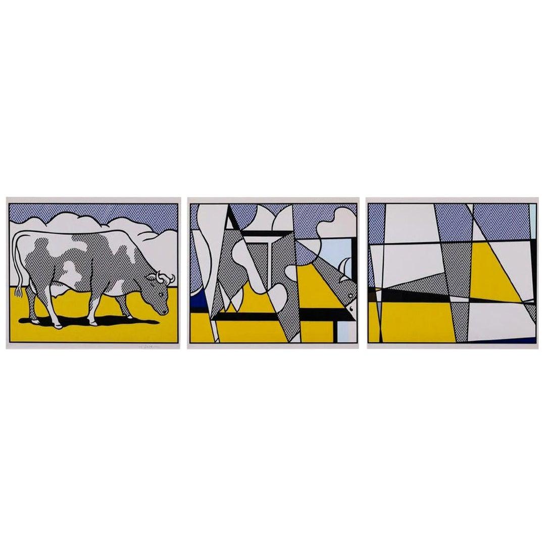 Roy Lichtenstein Triptych