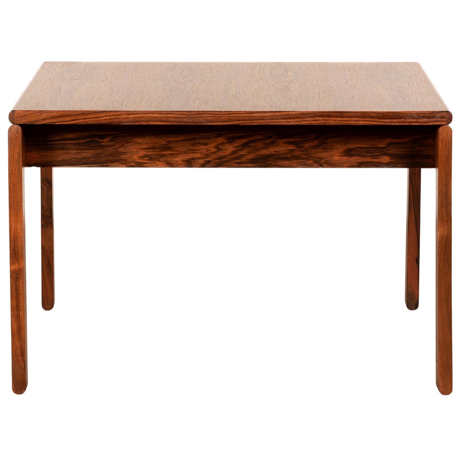 Tobia Scarpa Coffee Table in wood for Haimi Finland, 1975