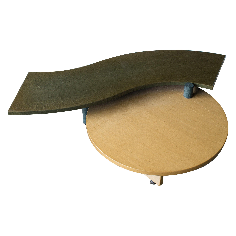 Nike Coffee Table Saporiti Postmodern, 1980s in Stock