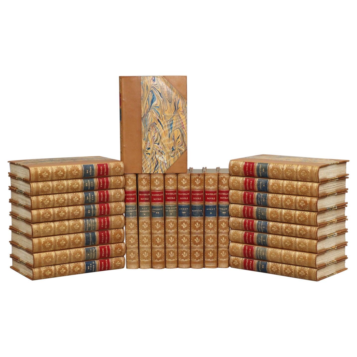 "Books, Sir Walter Scott's ""Waverley Novels"" Illustrated Cabinet Edition"