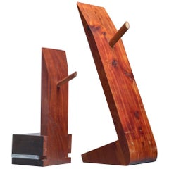 Pair of David Rogers Bookends, USA, 1980s