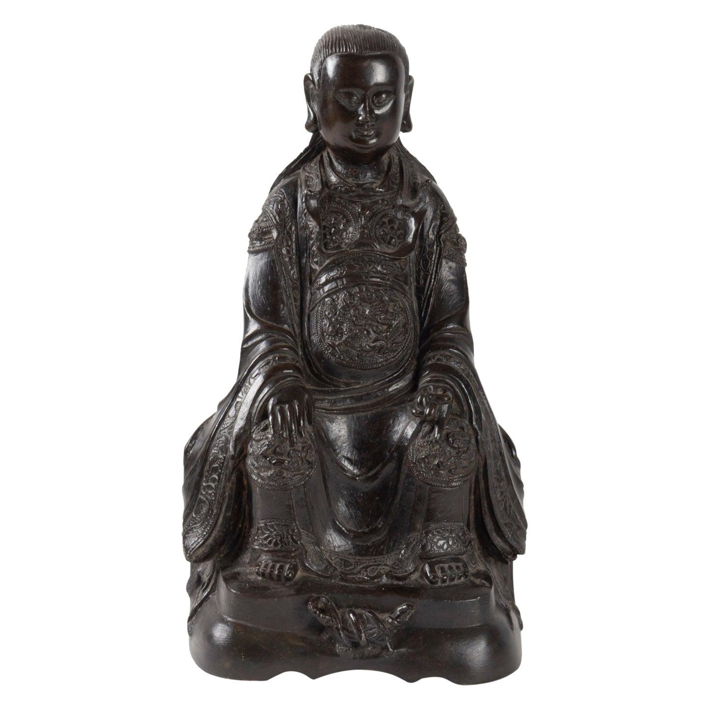 Bronze Buddha, China, 17th Century
