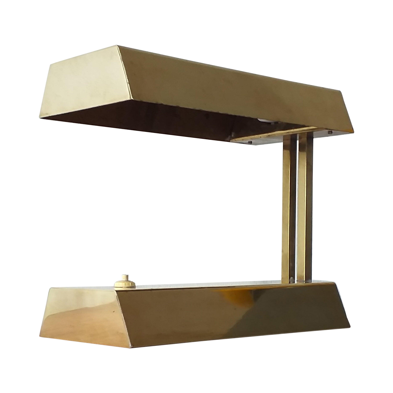Midcentury Brass Table Lamp, 1970s