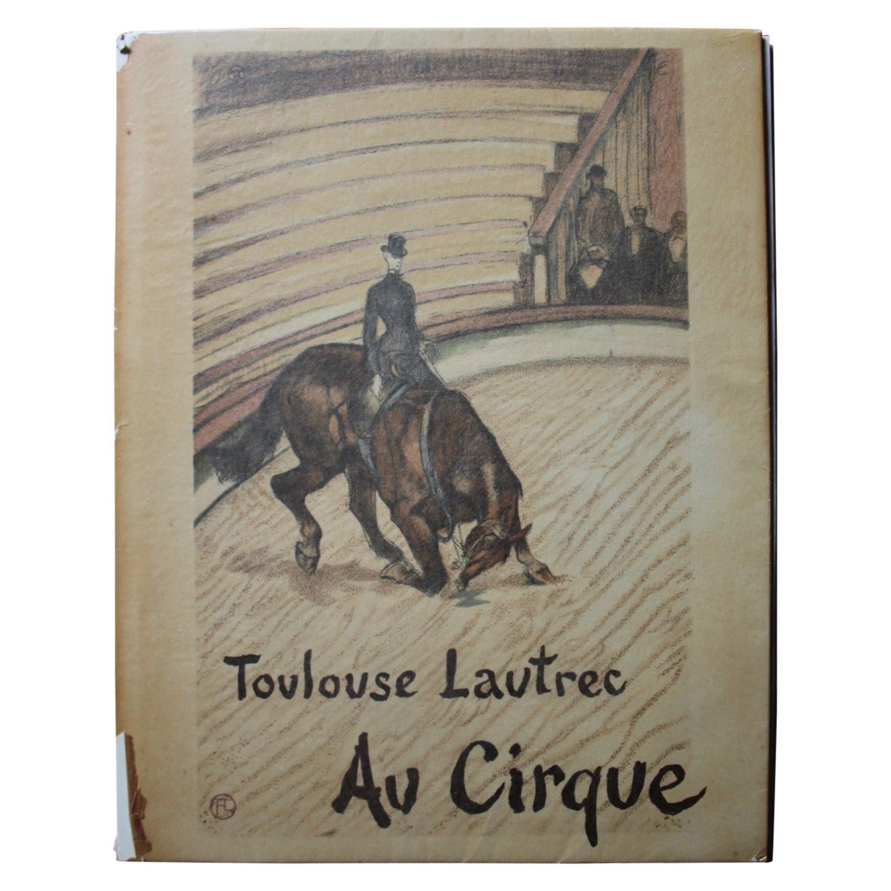 """Henri de """"Toulouse Lautrec au cirque"""" Book"""