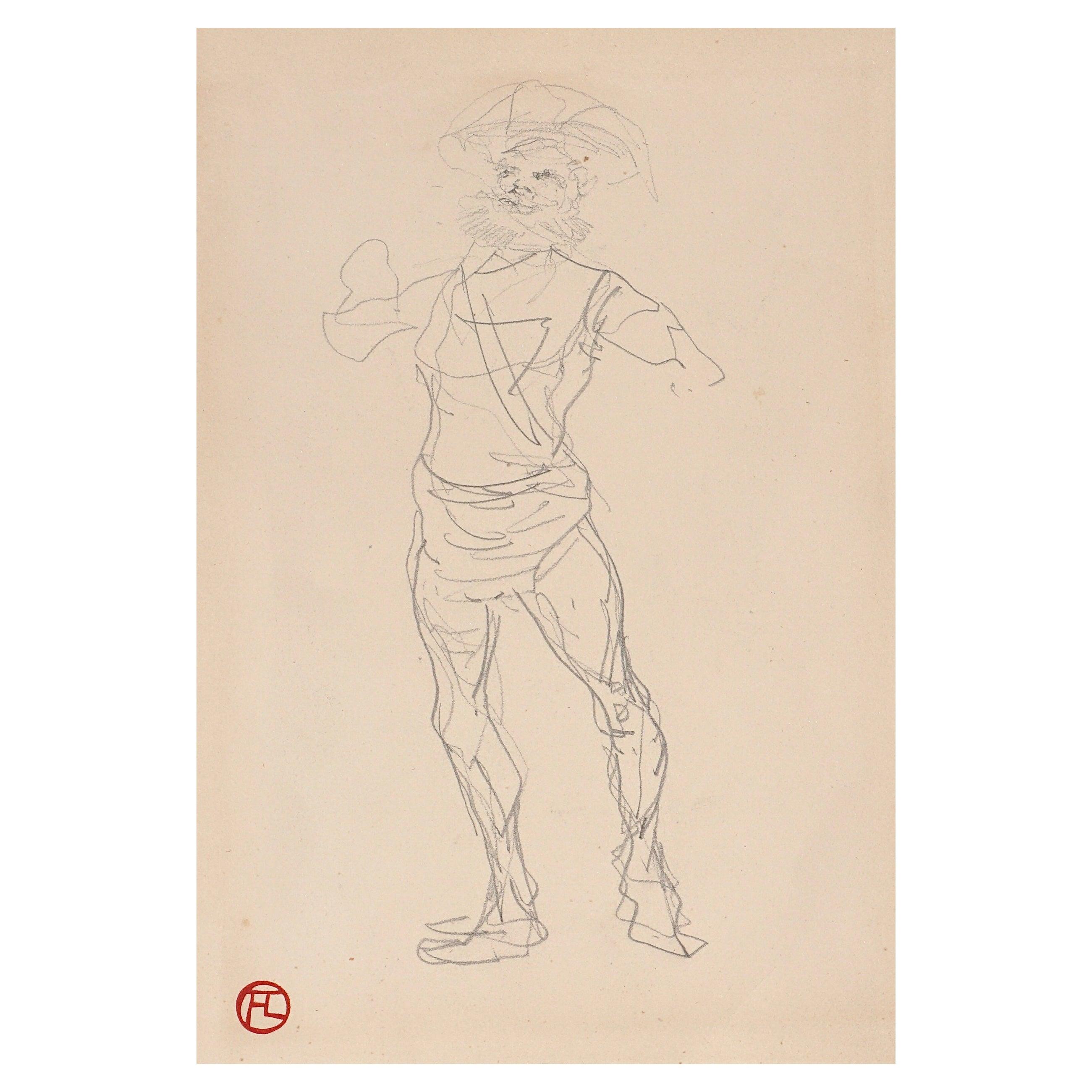 Henri De Toulouse Lautrec pencil Drawings Catalogued