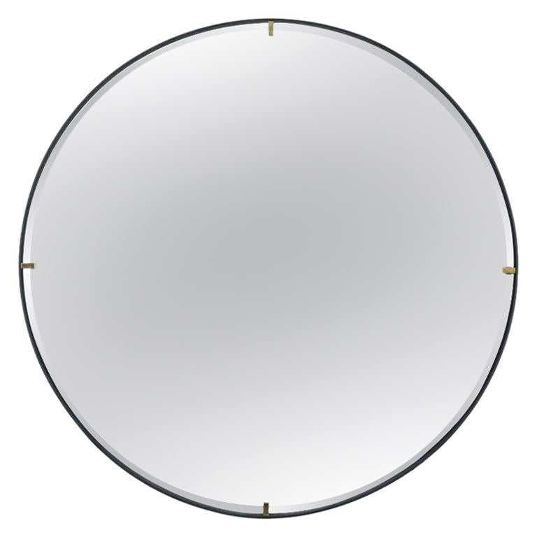 "Trousdale Circular Floating Mirror by Orange Los Angeles - 36"""