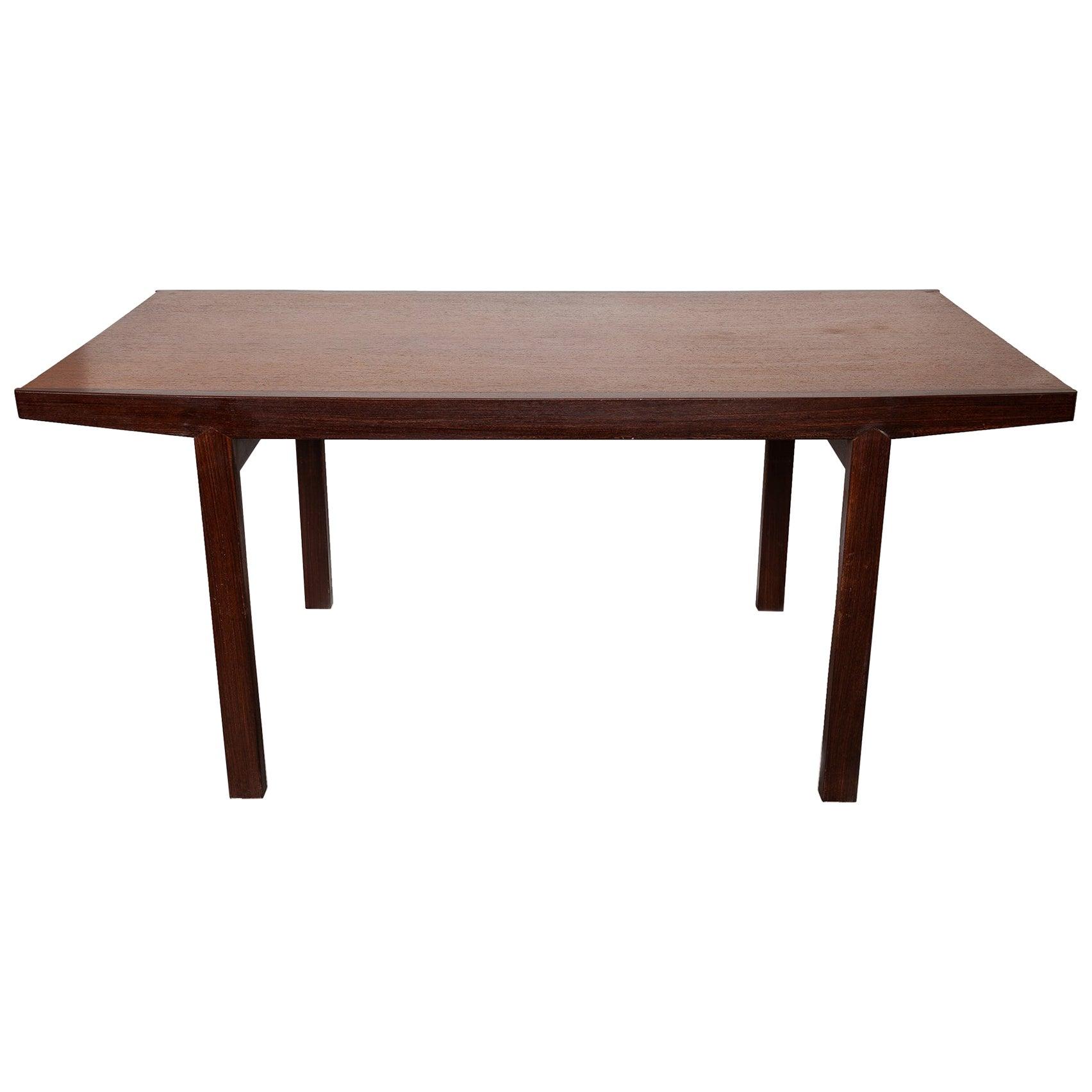 Martin Visser Wengé Rectangular Dining Table