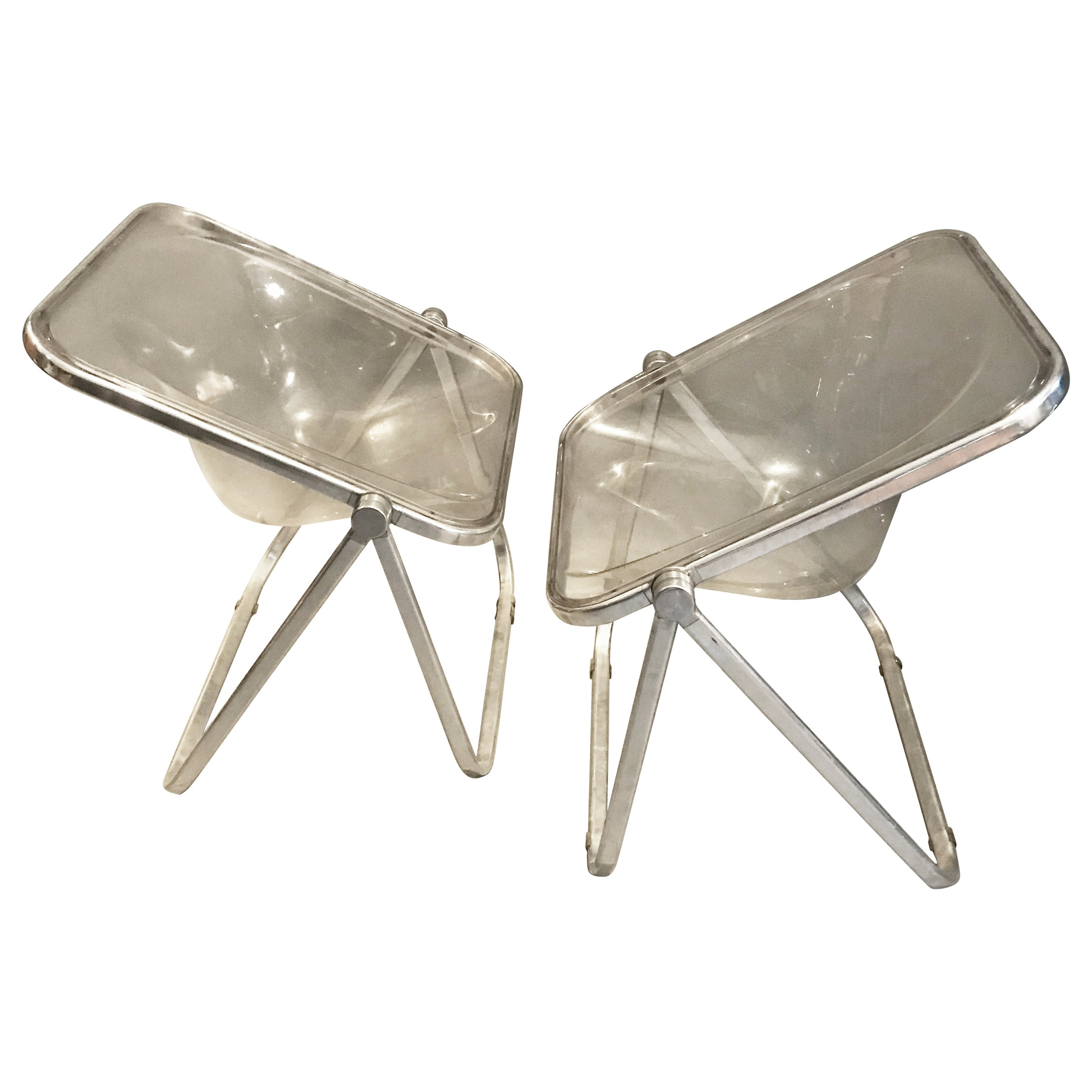 Plona Chair by Giancarlo Piretti for Castelli, circa 1970, Italy