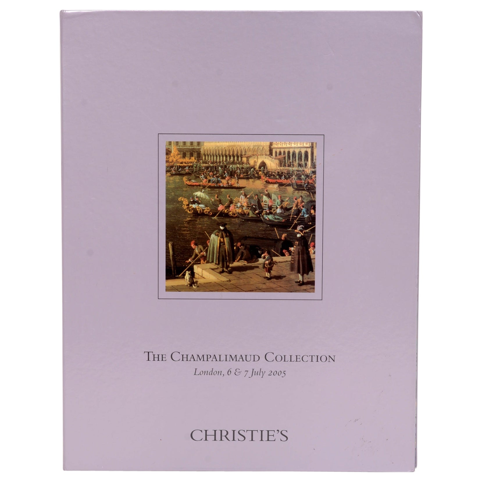 Christie's Champalimaud Collection London, 6 & 7 July 2005, First Edition