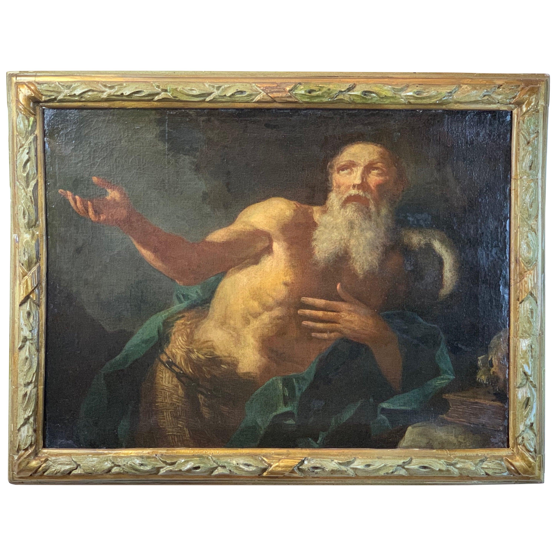 Large 18th Century Italian Oil Painting