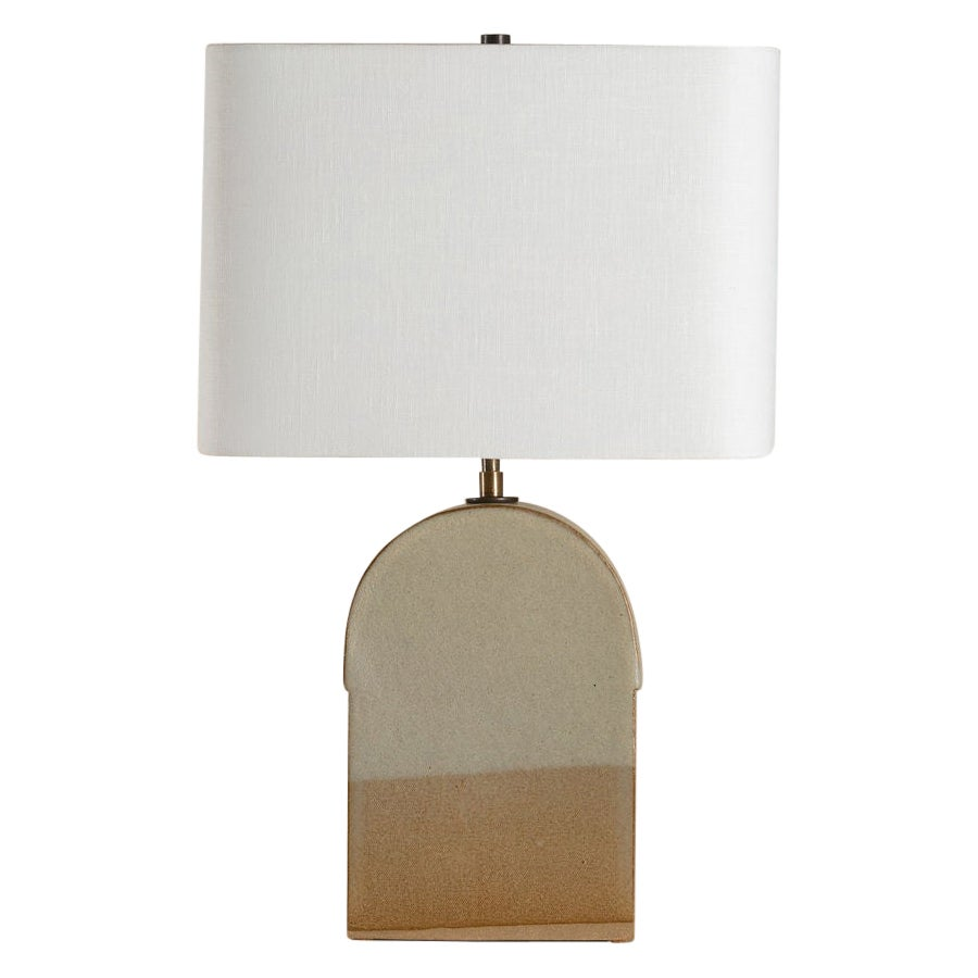 Toast Lamp, Ceramic Sculptural Table Lamp by Dumais Made