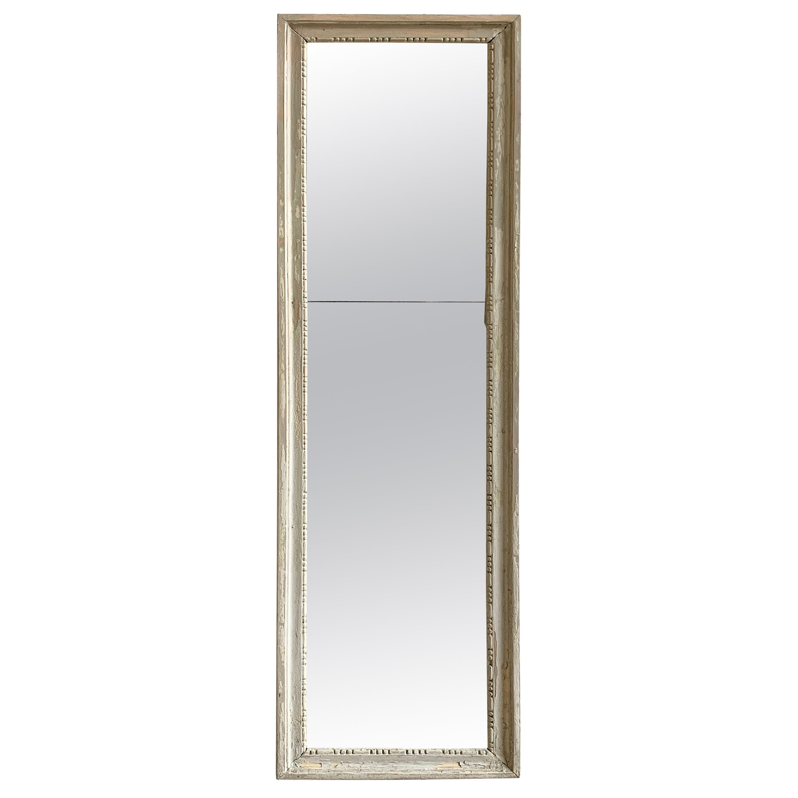 Louis XVI Painted Mirror, 18th Century