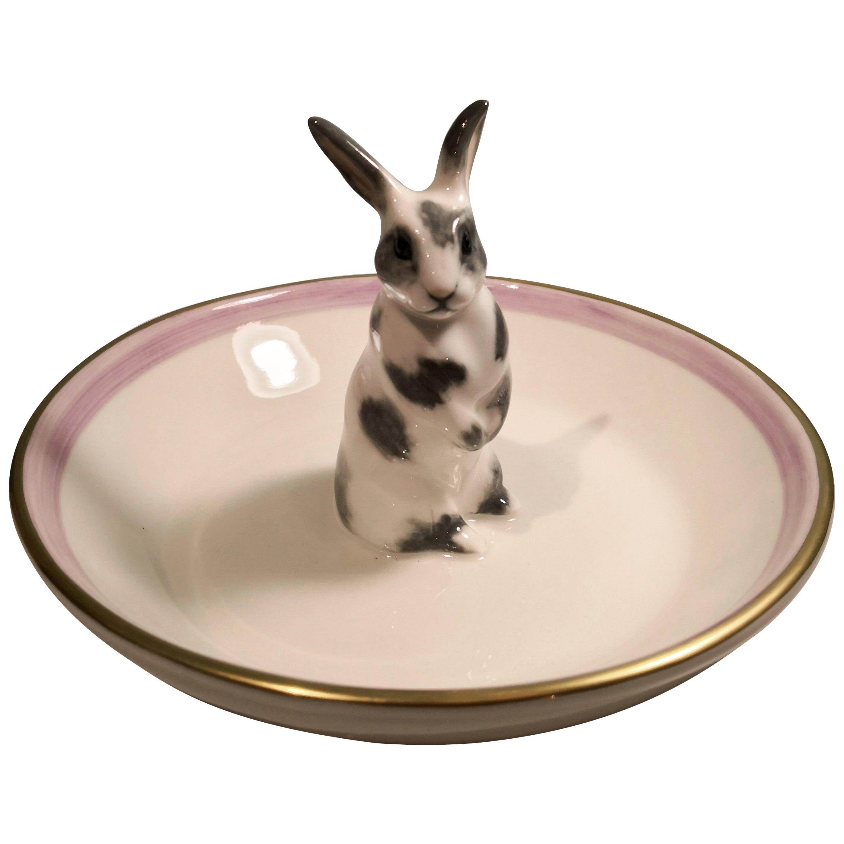Country Style Porcelain Bowl Easter Bunny Figure Sofina Boutique Kitzbuehel