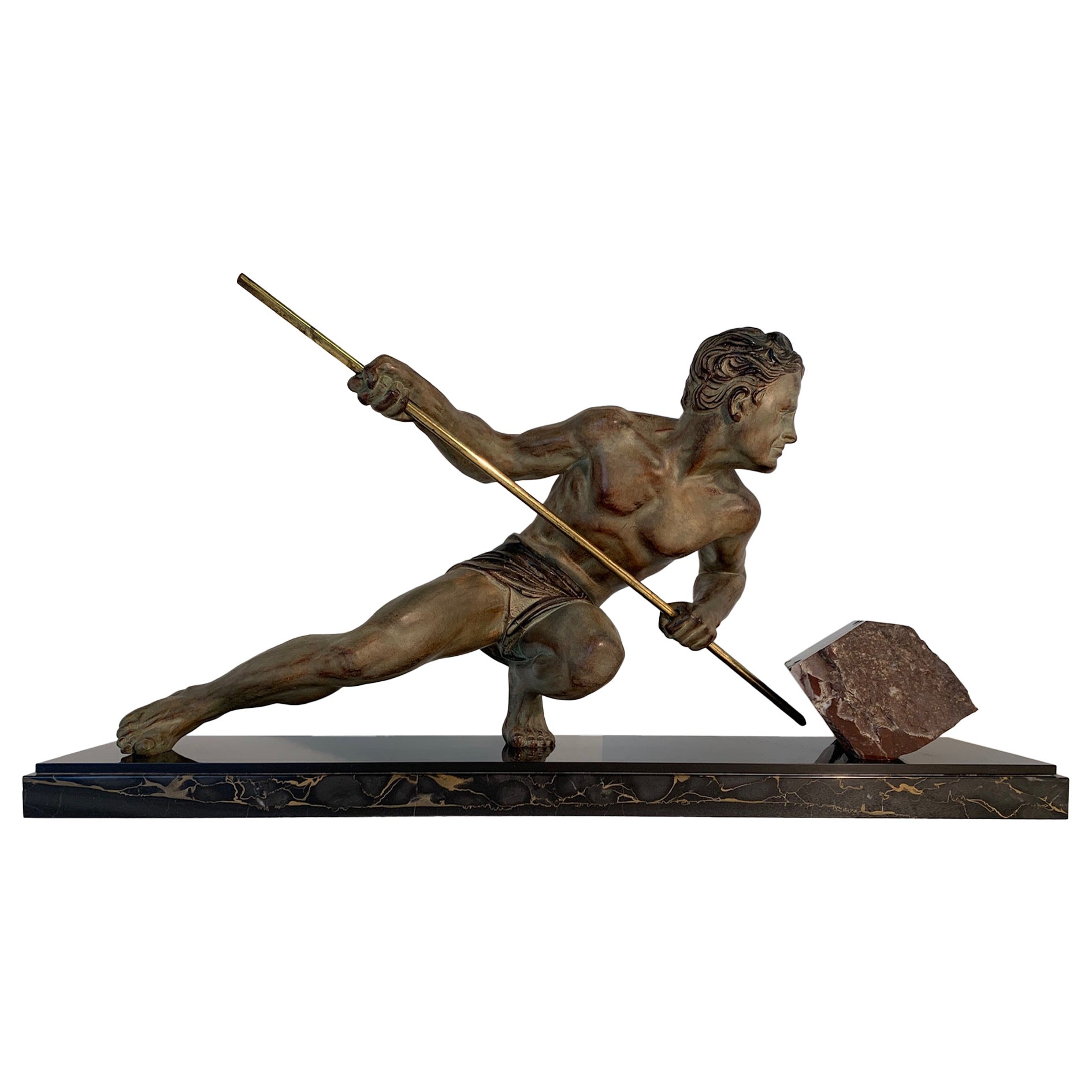 French Art Deco Sculpture by Guislain, 1930s