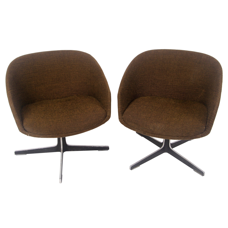 1960s John Yellen Swivel Chairs by I.V. Chair Corp.