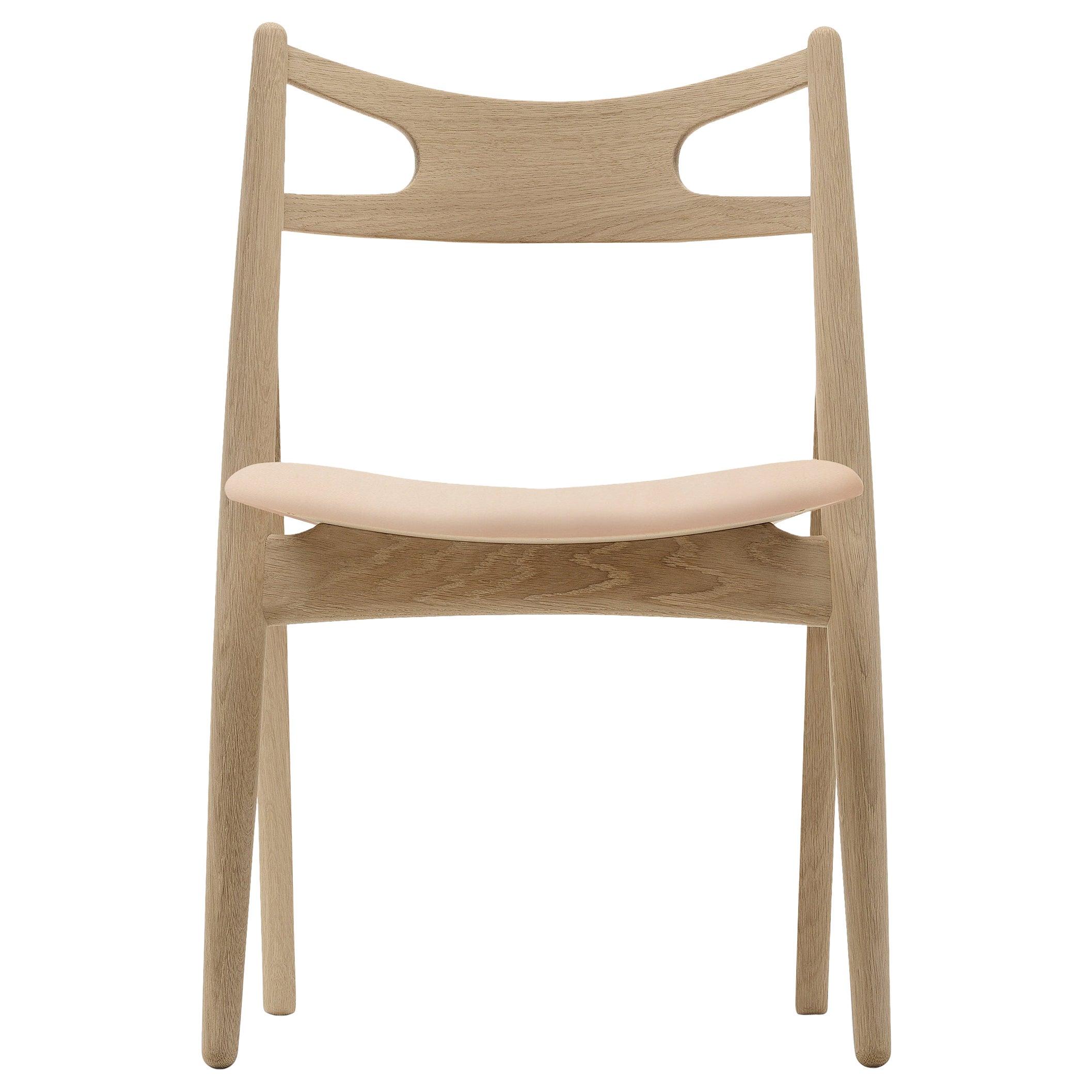 CH29P Sawbuck Chair in Oak Soap by Hans J. Wegner