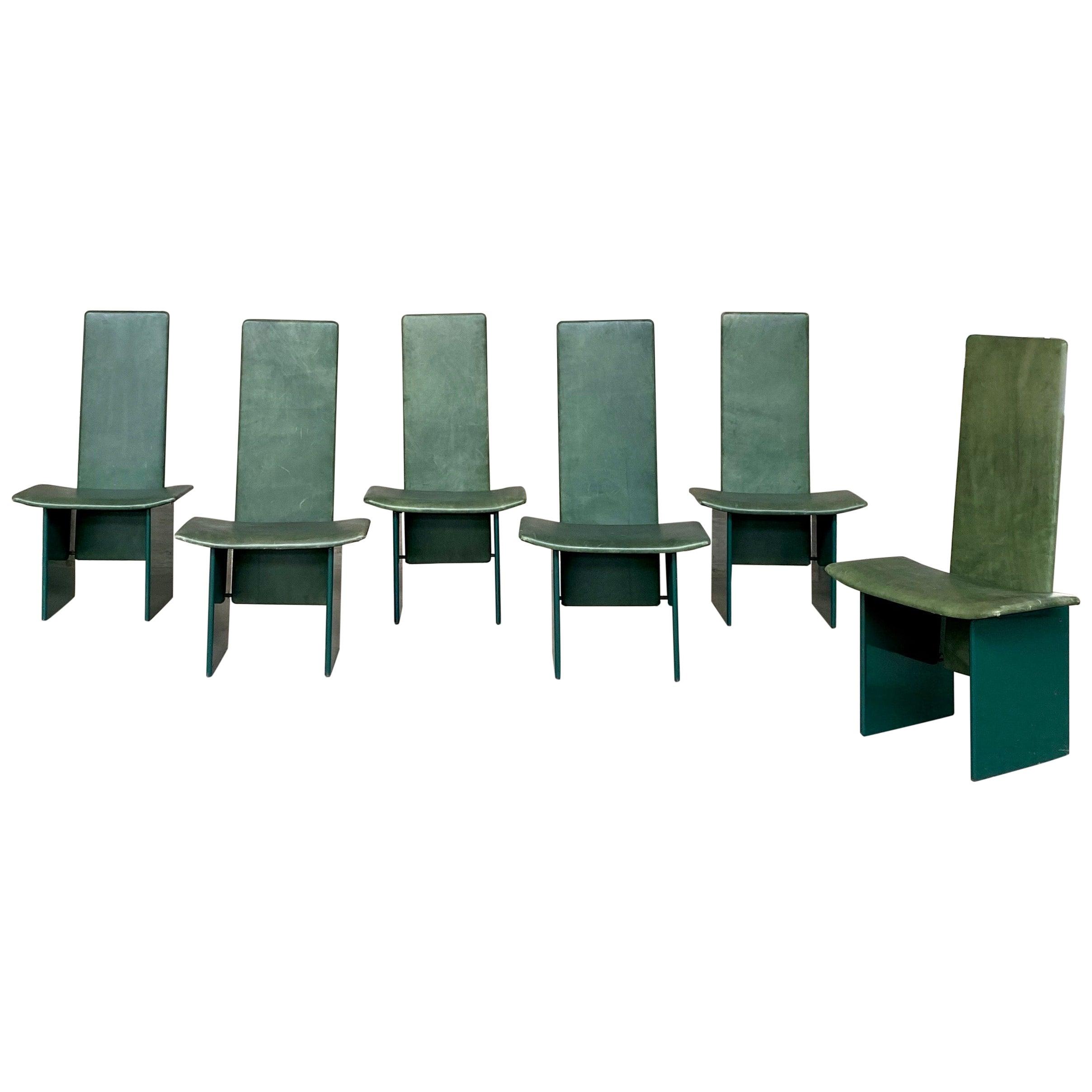 "Kazuhide Takahama ""Kazuki"" Chairs for Simon Gavina, 1968, Set of 6"