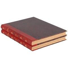 French Books L'Illustration 1908, 2 Volumes