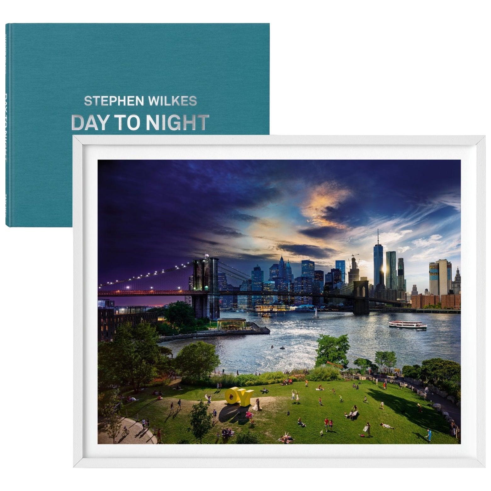 Stephen Wilkes, Day to Night, Art Edition No. 1-100 'Brooklyn Bridge, NYC'