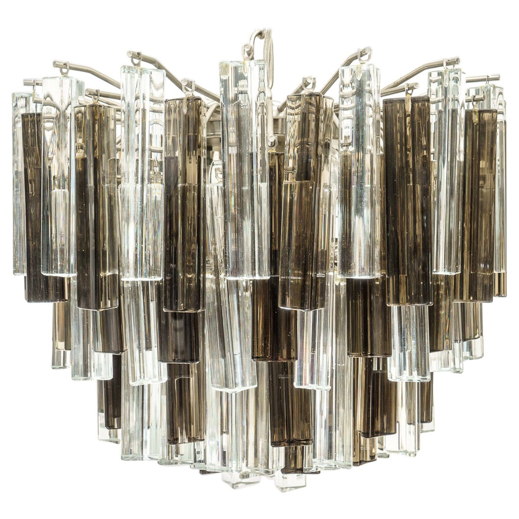 Murano Glass Chandelier by Venini for Camer Glass