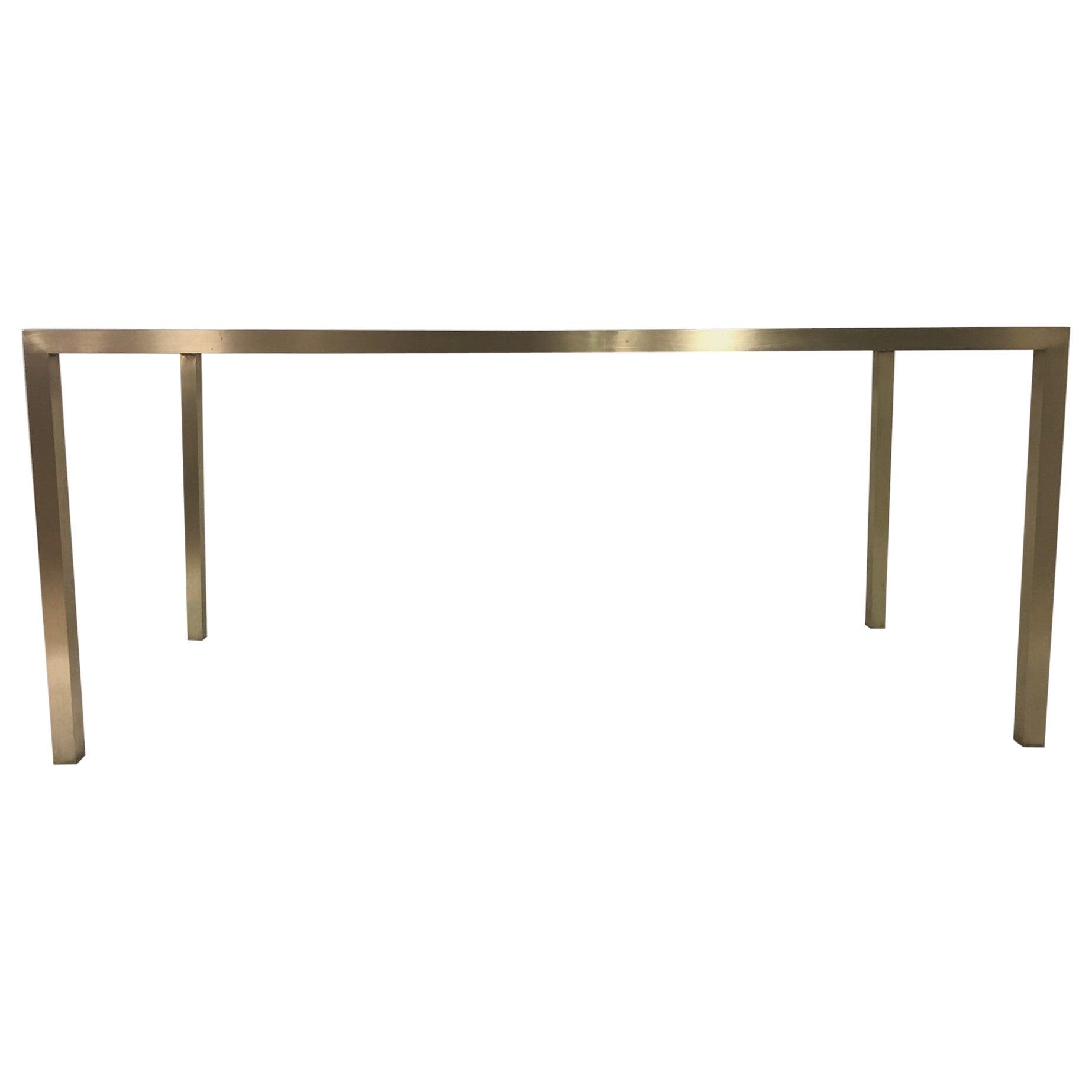 Mid-Century Modern Brass Table Base