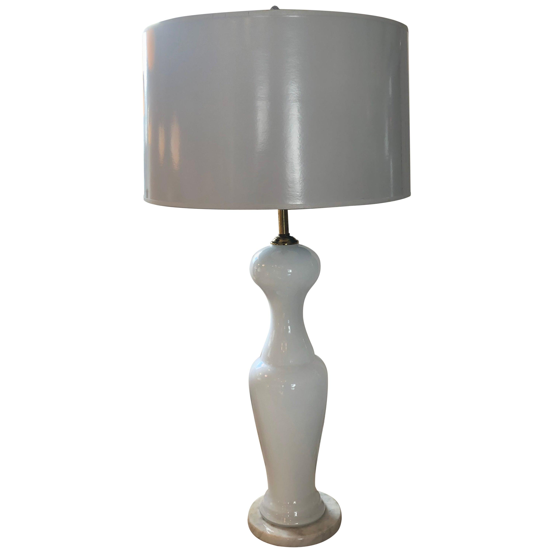 Vintage Venini Murano Table Lamp