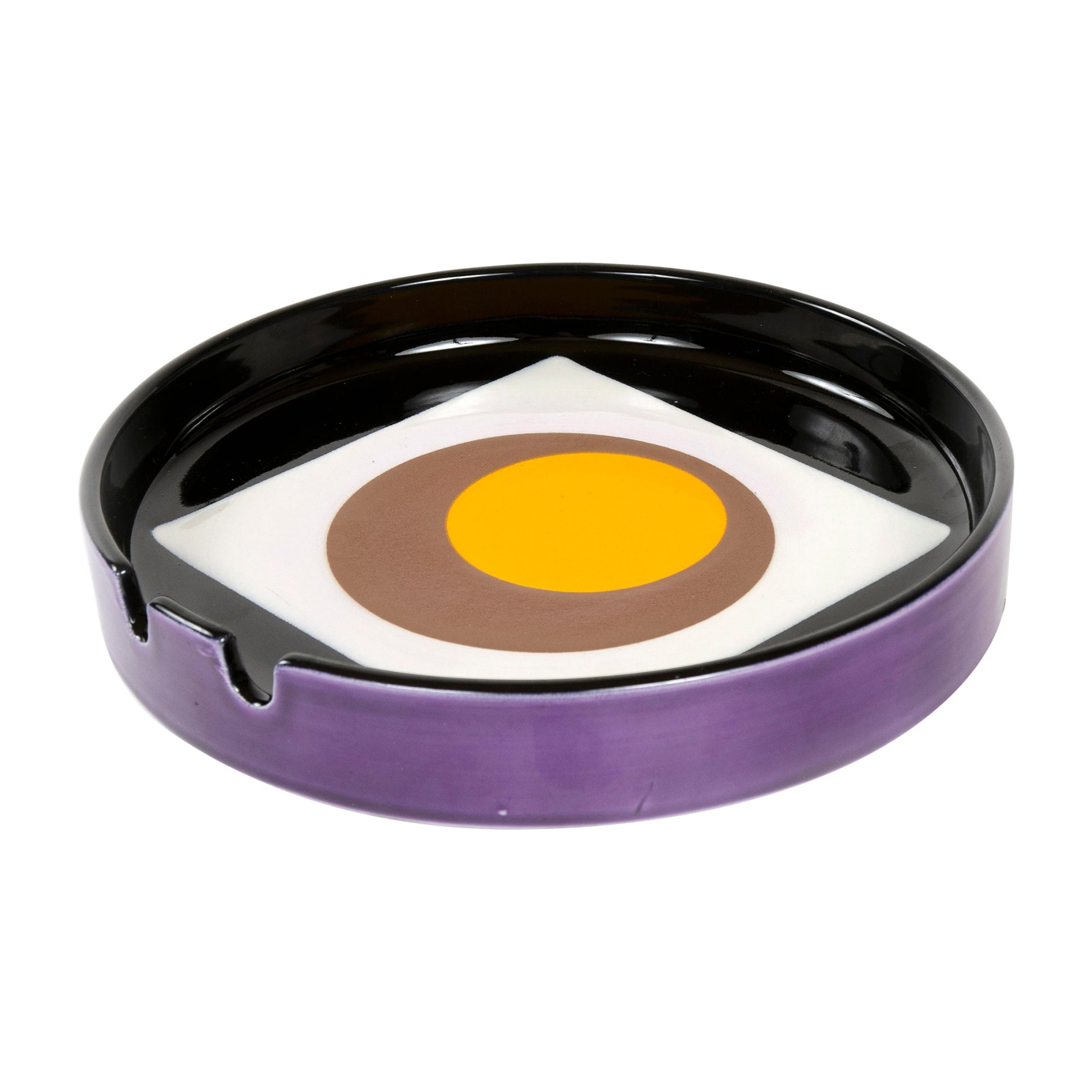 1960s Italian Ceramic Ashtray by Mancioli Ceramica for Raymor