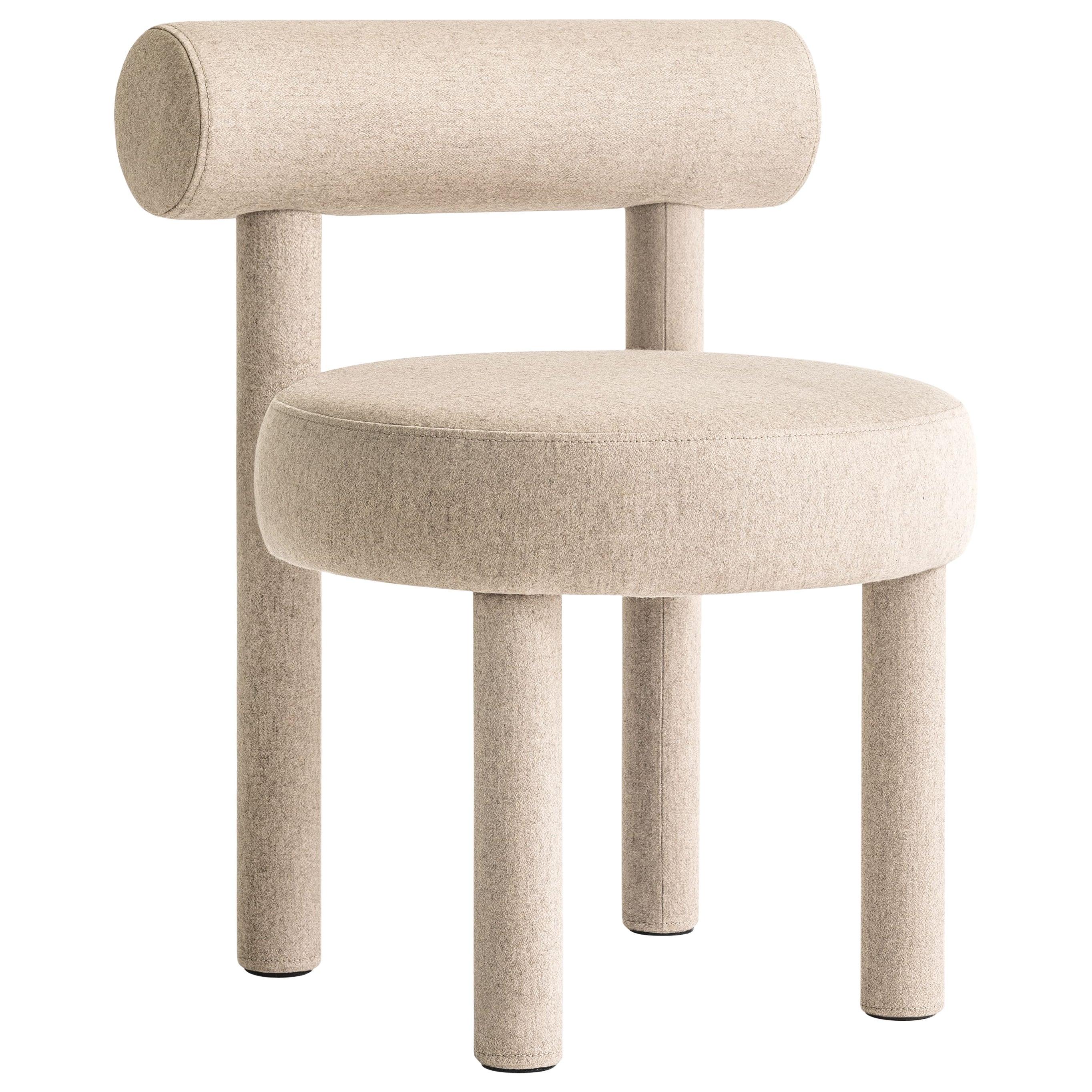 Modern Chair Gropius CS1 in Wool Fabric by Noom