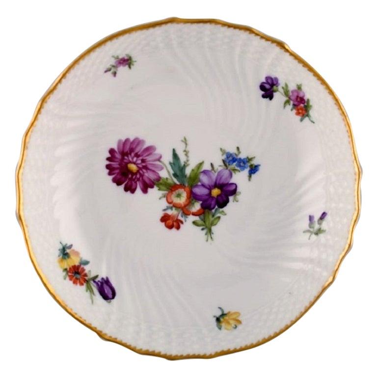 Royal Copenhagen Saxon Flower, Bowl, Decoration Number 4/1532