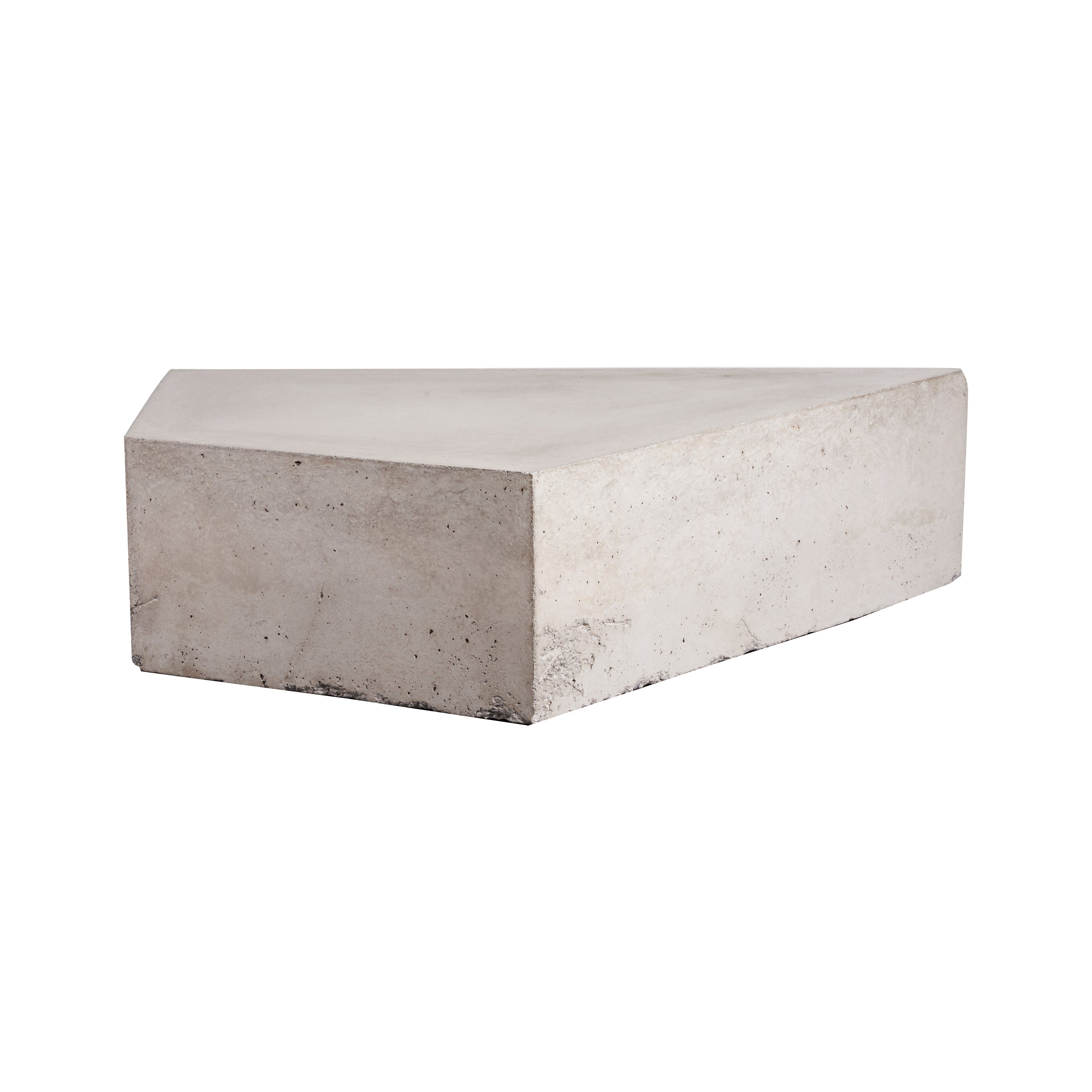 'Goldstein' Reinforced Concrete Table, One of a Kind Artwork by Littlewhitehead