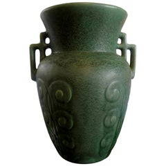 Stylized Art Deco Pottery Vase