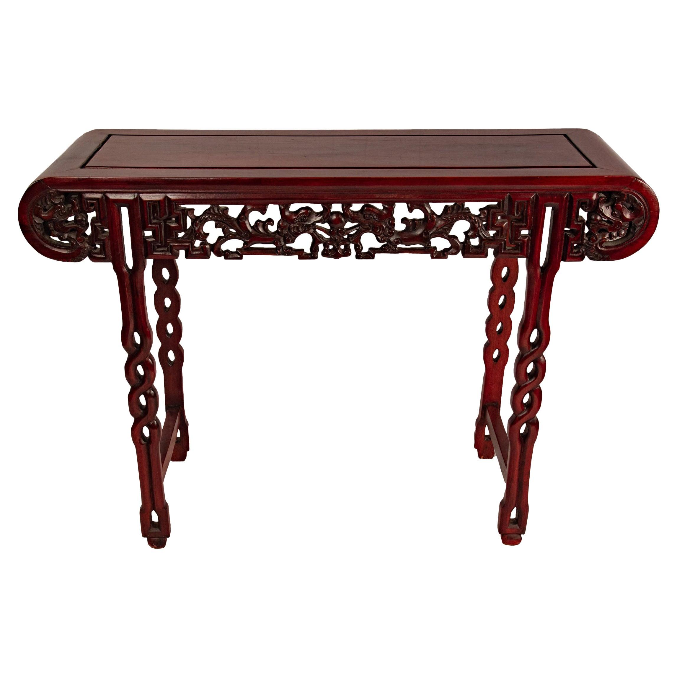 Mahogany Ming Chinese Altar Table