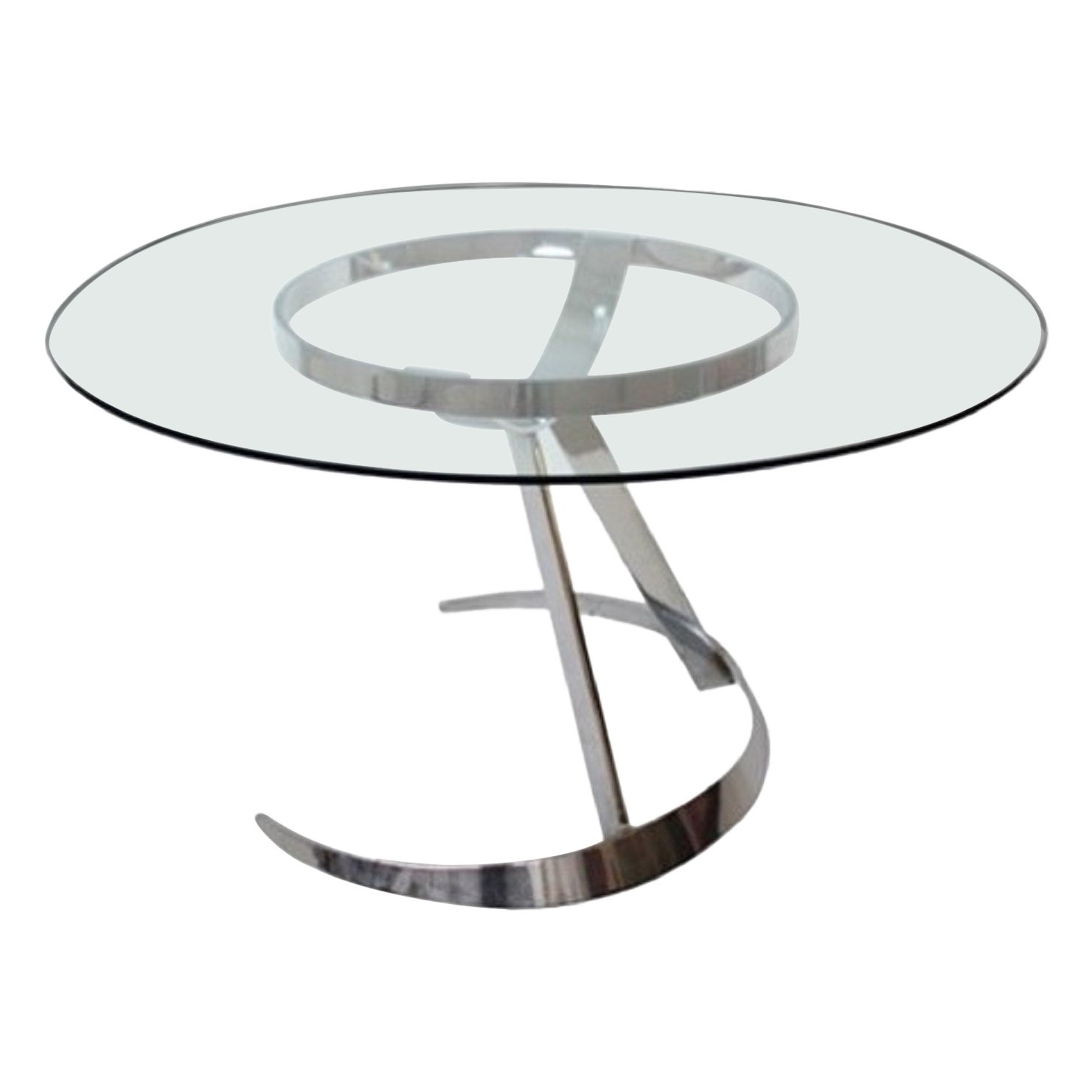 Space Age Model Scimitar Dining Table by Boris Tabacoff