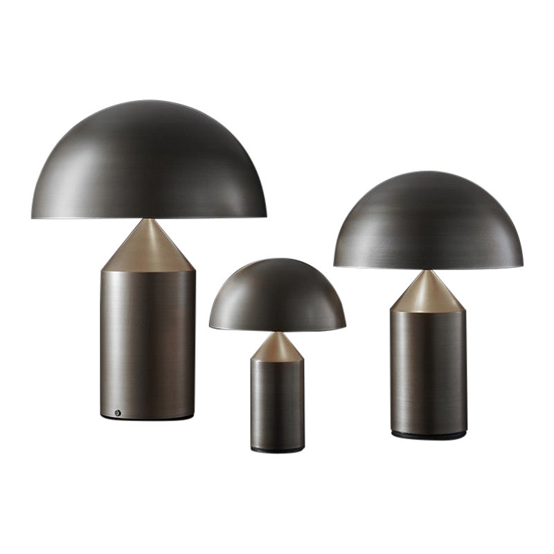 Atollo Model 239 BR Table Lamp by Vico Magistretti for Oluce