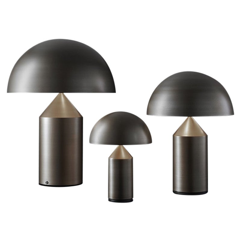 Atollo Model 233 BR Table Lamp by Vico Magistretti for Oluce