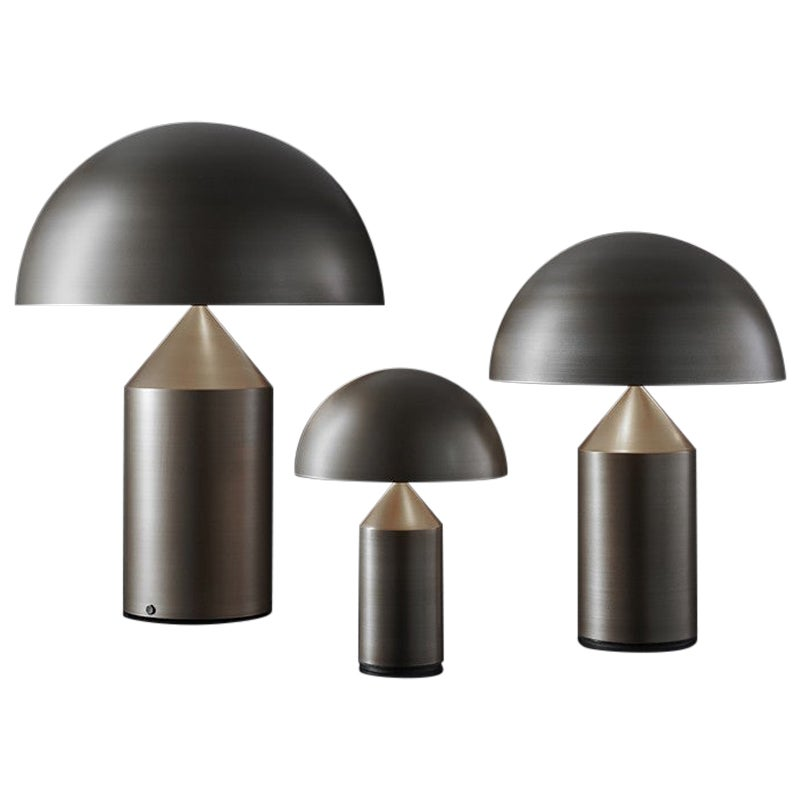 Atollo Model 238 BR Table Lamp by Vico Magistretti for Oluce