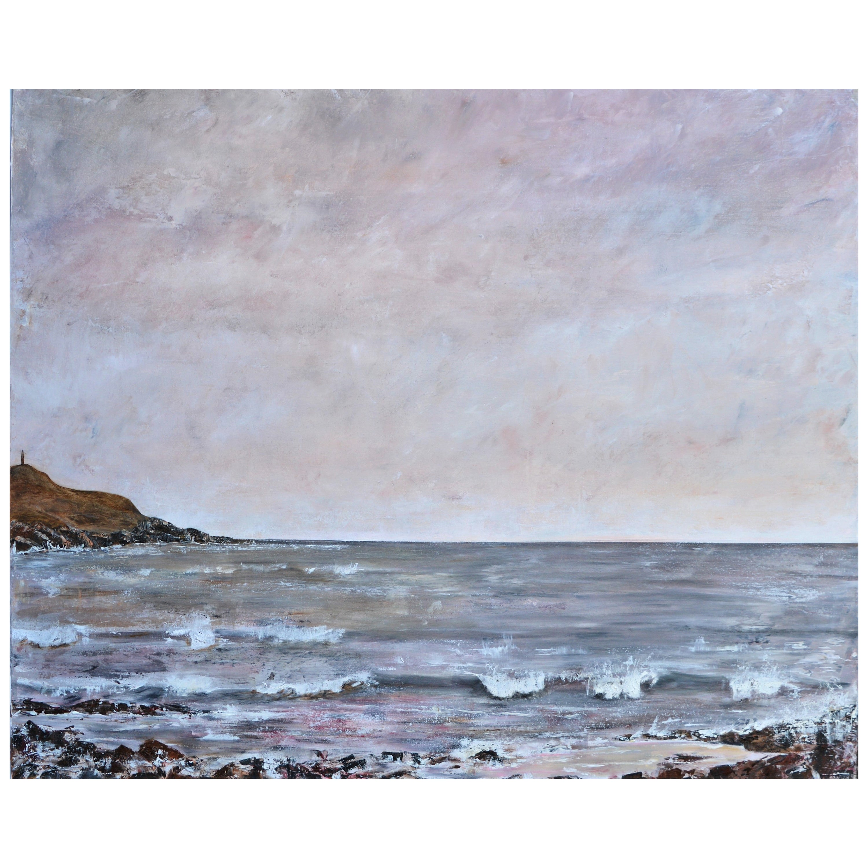 Breathing Space, Contemporary Seascape Painting