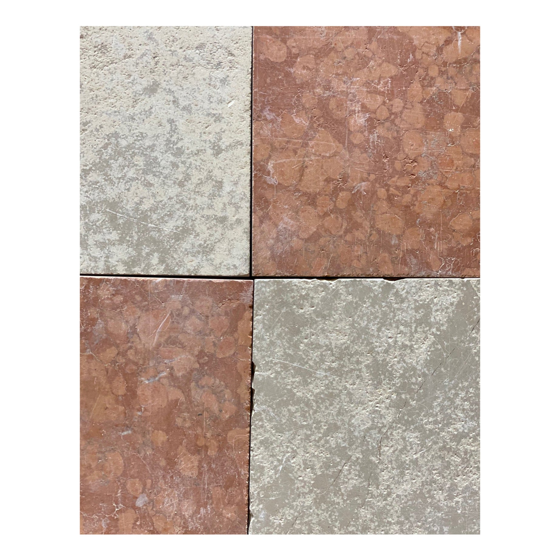 Pink And White Italian Marble Tiles For Sale At 1stdibs
