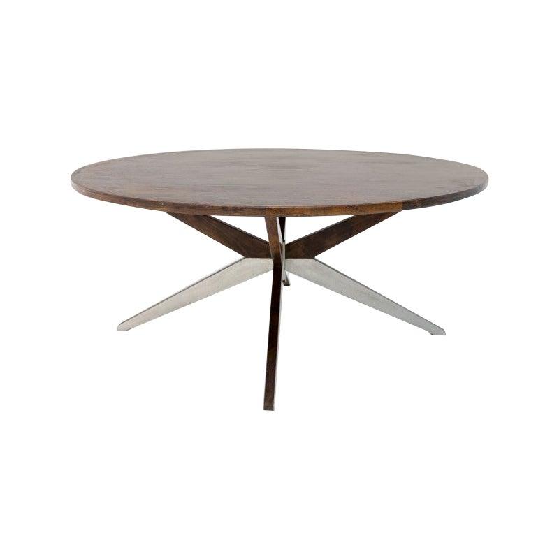 Scandinavian Modern Rosewood Coffee Table, Denmark, 1960s